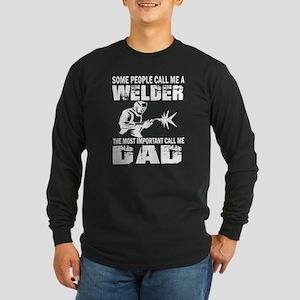 WELDER DAD Long Sleeve T-Shirt