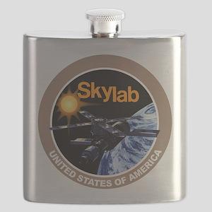 Skylab Program Logo Flask