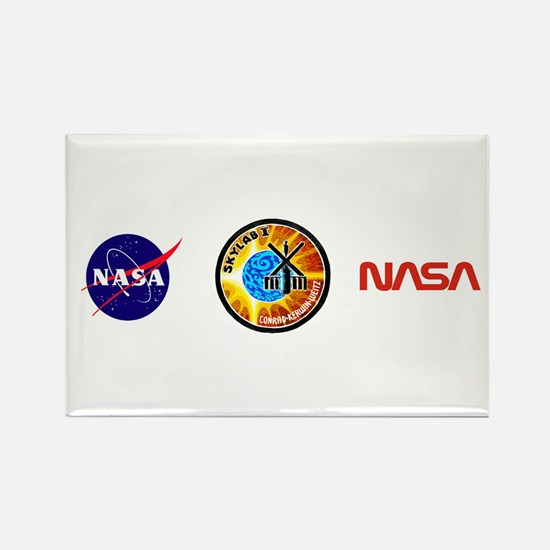 Skylab 1 Mission Patch Rectangle Magnet