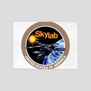 Skylab Program Logo 5'x7'Area Rug