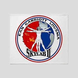 Skylab 2 Throw Blanket