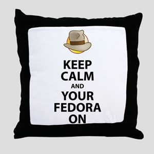 Keep Calm And Your Fedora On Black Text Updated Th