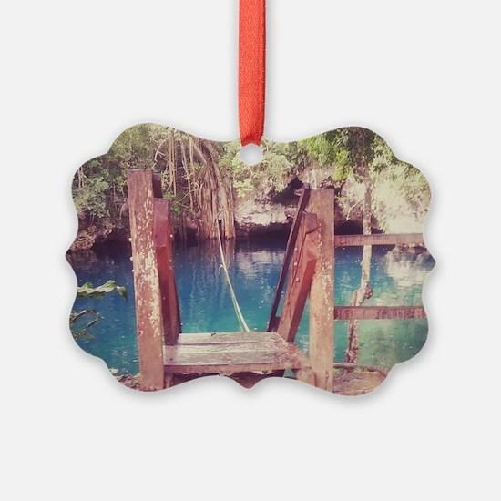 Cenote Mexico  Ornament