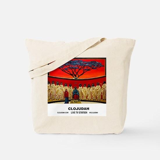 CLOJudah Rastafari Last Supper Tote Bag