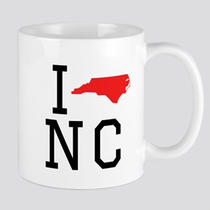 I Heart North Carolina Mugs
