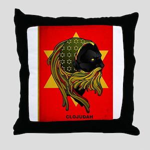 CLOJudah Rastafari Star Throw Pillow