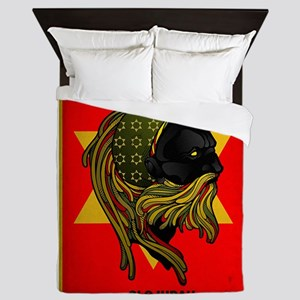 CLOJudah Rastafari Star Queen Duvet