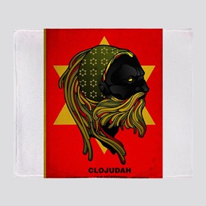 CLOJudah Rastafari Star Throw Blanket