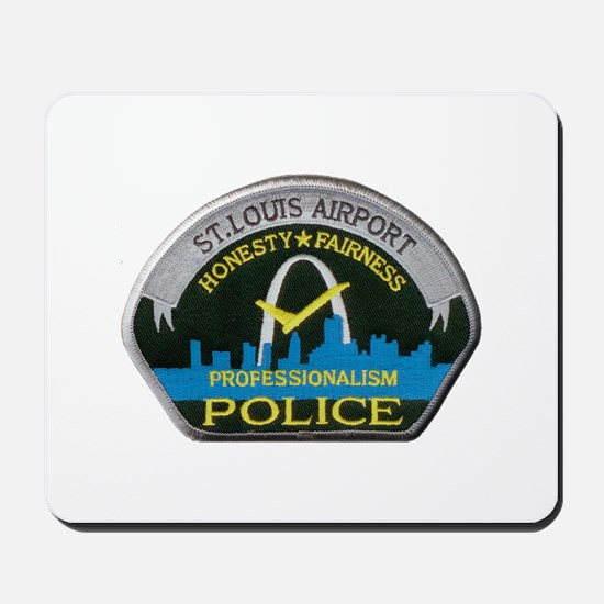 St Louis Airport Police Mousepad