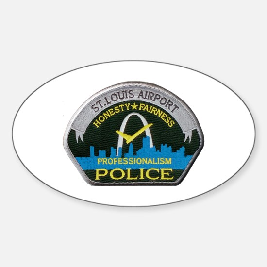 St Louis Airport Police Decal
