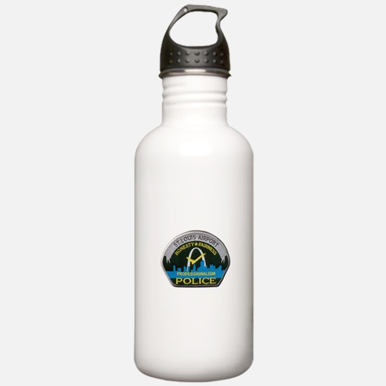 St Louis Airport Police Water Bottle