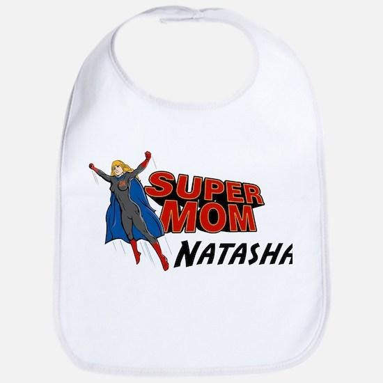 Supermom Natasha Bib