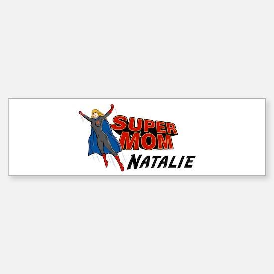 Supermom Natalie Bumper Bumper Bumper Sticker