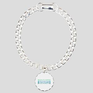 # 1 Teacher Charm Bracelet, One Charm