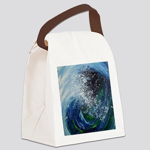 Falling Into You Canvas Lunch Bag