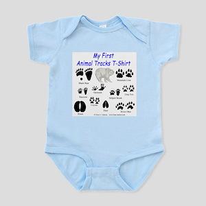 Animal Tracks Infant Creeper