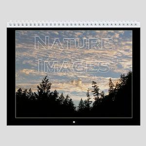 Nature Images Wall Calendar