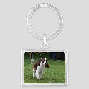 Springer Spaniel  Dog Landscape Keychain