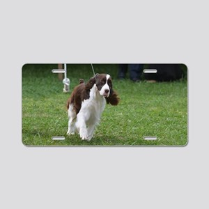 Springer Spaniel  Dog Aluminum License Plate