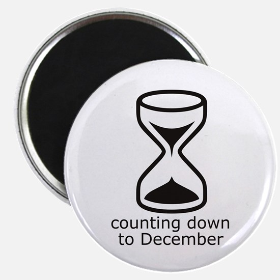 December due date count down Magnet
