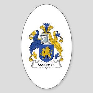 Gardner Oval Sticker