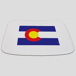 Colorado State Flag Bathmat
