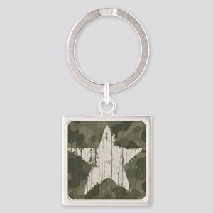 Military Star Keychains