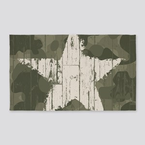 Military Star 3'x5' Area Rug