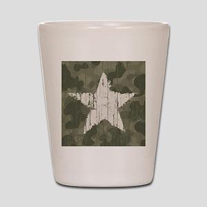 Military Star Shot Glass