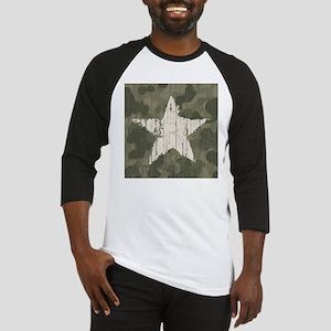 Military Star Baseball Jersey