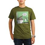 Snowman of the Apes Organic Men's T-Shirt (dark)