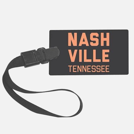 Nashville Tennessee Luggage Tag