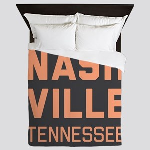 Nashville Tennessee Queen Duvet