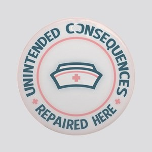 Unintended Consequences Ornament (Round)