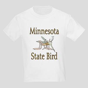 Minnesota State Bird Kids Light T-Shirt