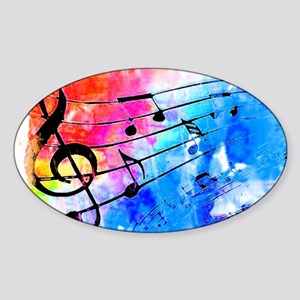 Colorful music Sticker