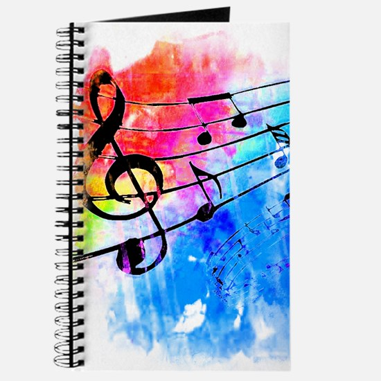 Colorful music Journal
