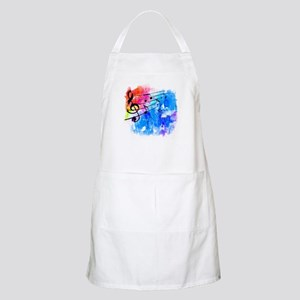 Colorful music Apron