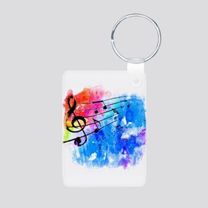Colorful music Keychains