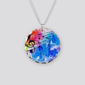 Colorful music Necklace