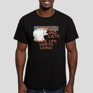 musicandcats-dark T-Shirt