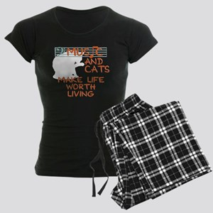 musicandcats-dark Pajamas