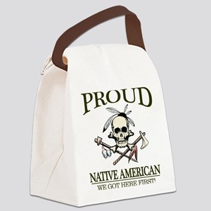 Proud Native American (We Got Here First) Canvas L