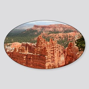 Bryce Canyon, Utah, USA 17 Sticker (Oval)