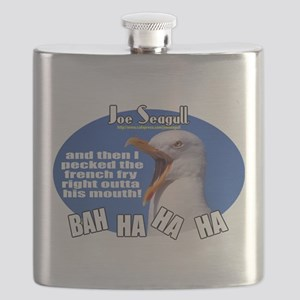 Joe Seagull - Fry Thief Flask