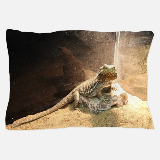 Cool Bearded dragon Pillow Case