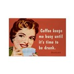 Coffee Keeps Me Busy, By Bluntcard Magnets