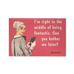 Middle Of Being Fantastic. By Bluntcard Magnets