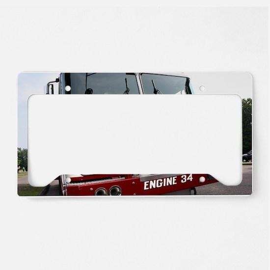Engine 34 License Plate Holder