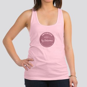 Empowered By Unicorns Racerback Tank Top